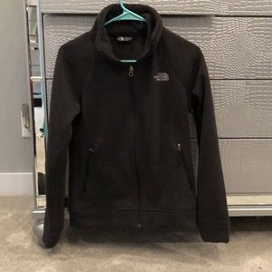 The north face fur lined fleece jacket